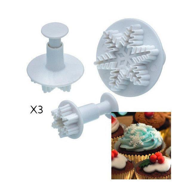 Emporte piece flocon reine des neiges po le cuisine inox for Kit cuisine moleculaire cultura