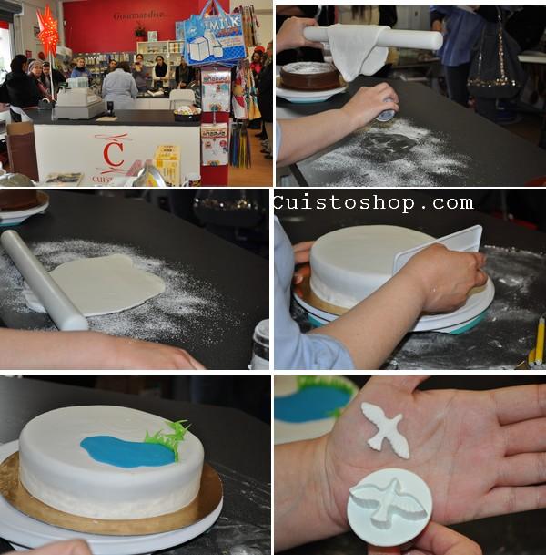 P te a sucre utilisation conservation de la p te a sucre - Comment decorer un gateau avec pate a sucre ...